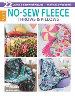 No-Sew Fleece Throws & Pillows e-Book