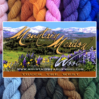 Mountain Meadow Yarn and Wine ad