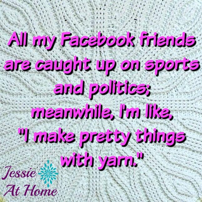 Yarn is better than politics