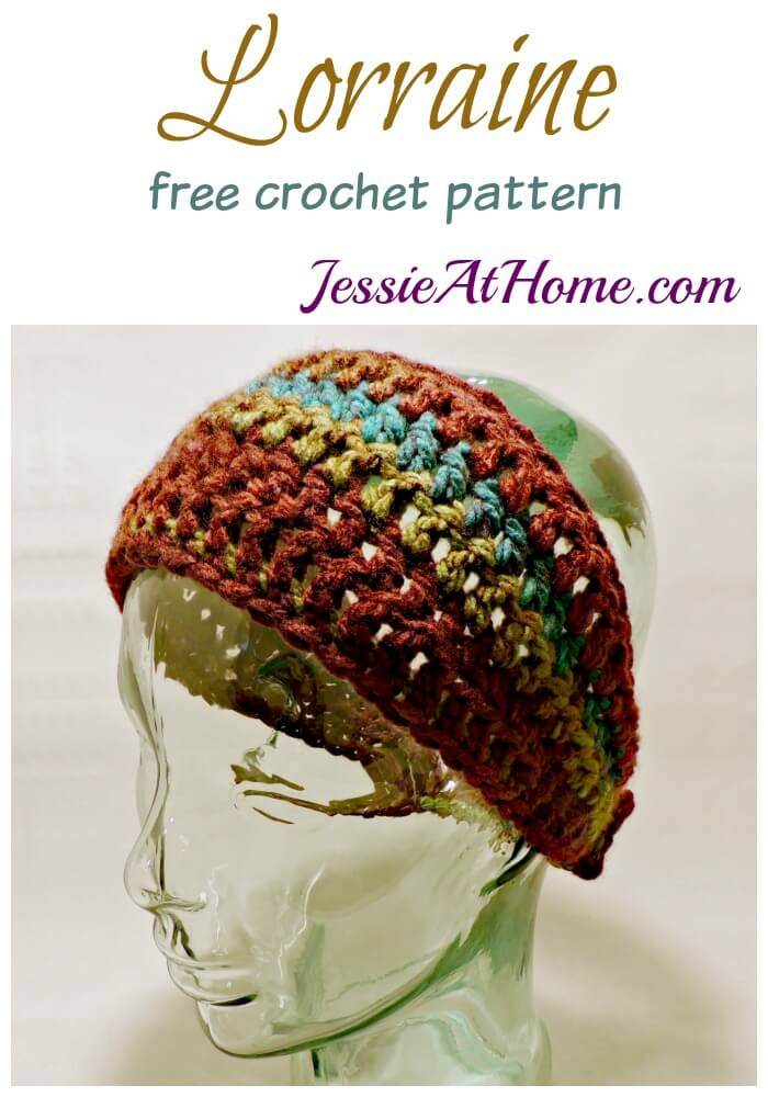 Lorraine - free crochet pattern by Jessie At Home
