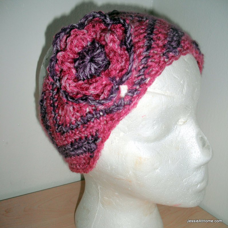 Julianna ~ Free Crochet Ear Warmer Pattern Jessie At Home