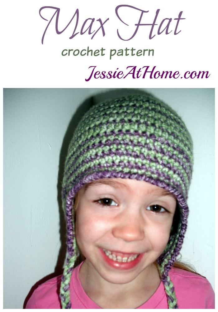 Max Hat crochet pattern by Jessie At Home