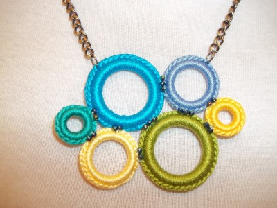 Crochet-Ring-Necklace