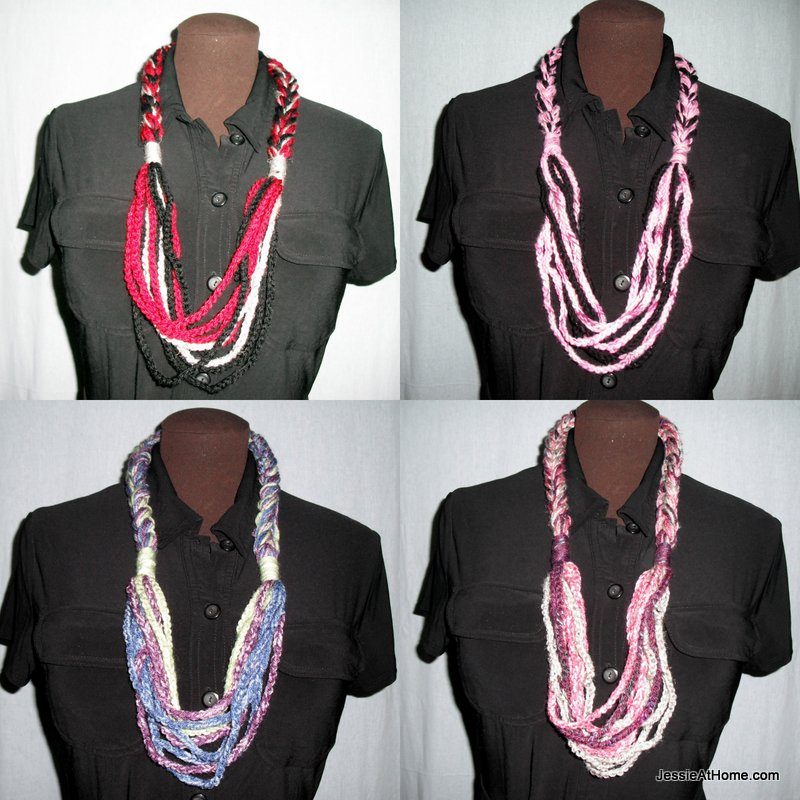 Free-Crochet-Pattern-Chain-Necklace by Jessie-At-Home