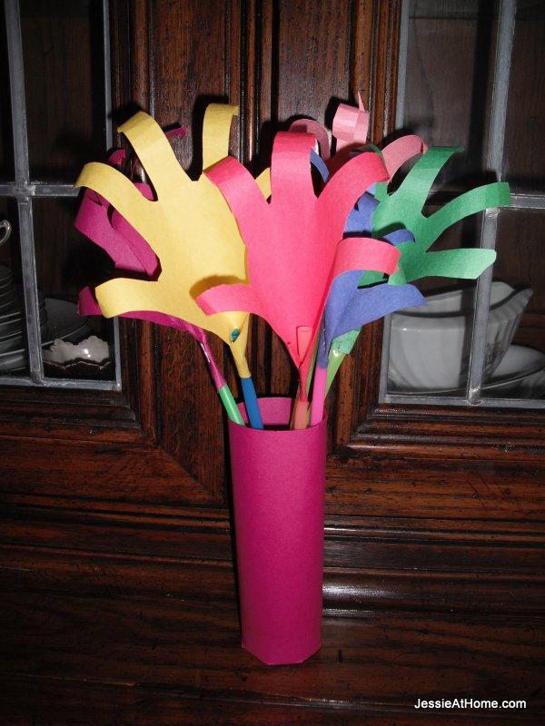 hand-made-lilies-for-Grandmom