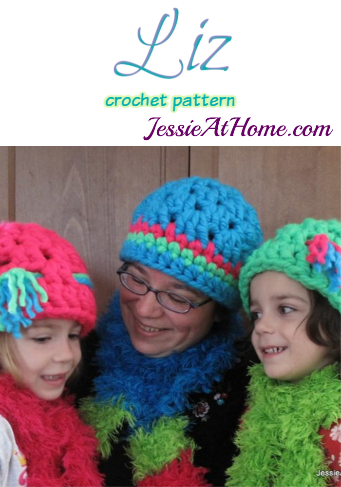 Liz crochet pattern by Jessie At Home