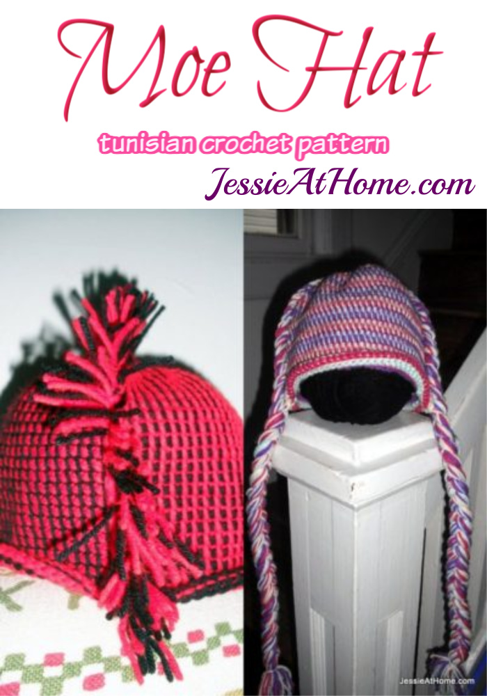Moe Hat crochet pattern by Jessie At Home