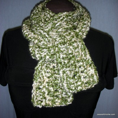 Deb's Crafts: Homespun Scarf Free Crochet Pattern