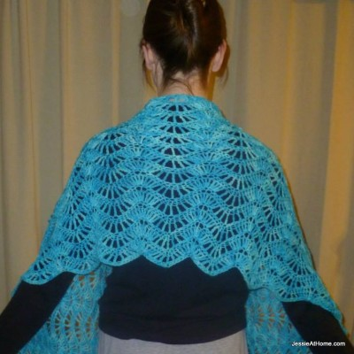 RIPPLE SHAWL PATTERN | New Patterns