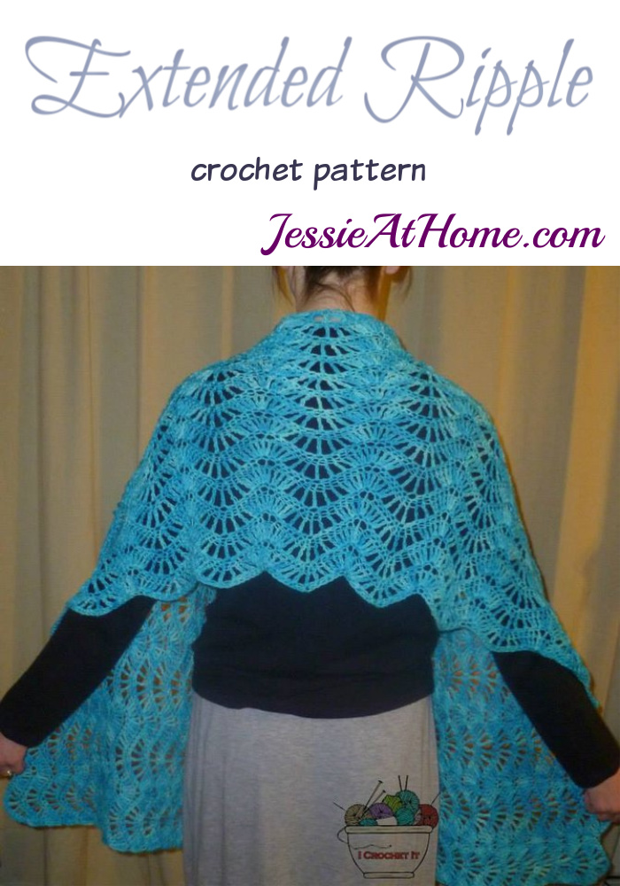 Extended Ripple crochet pattern by Jessie At Home