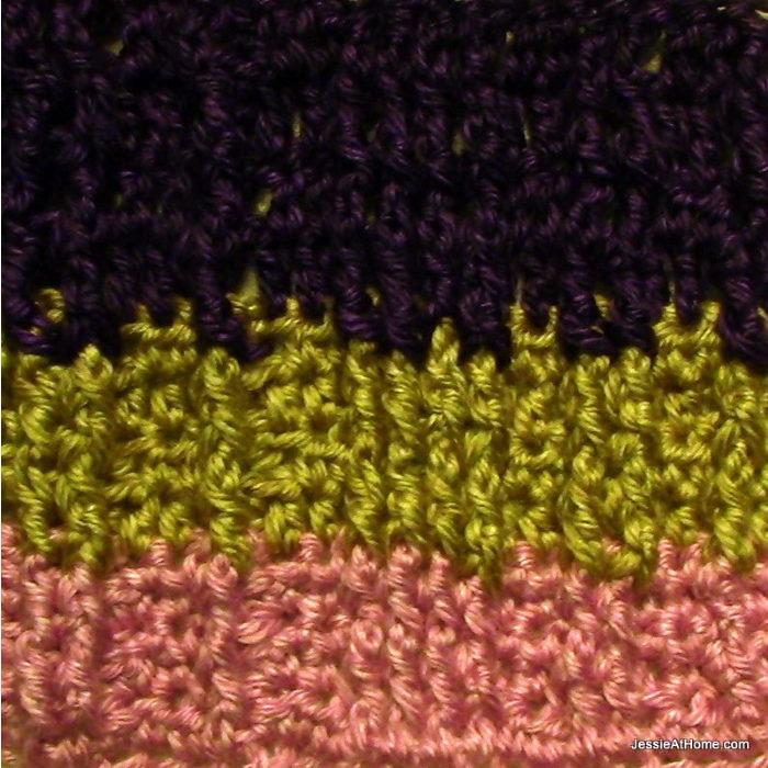 Stitchopedia Frond and Back Post Crochet - Pin