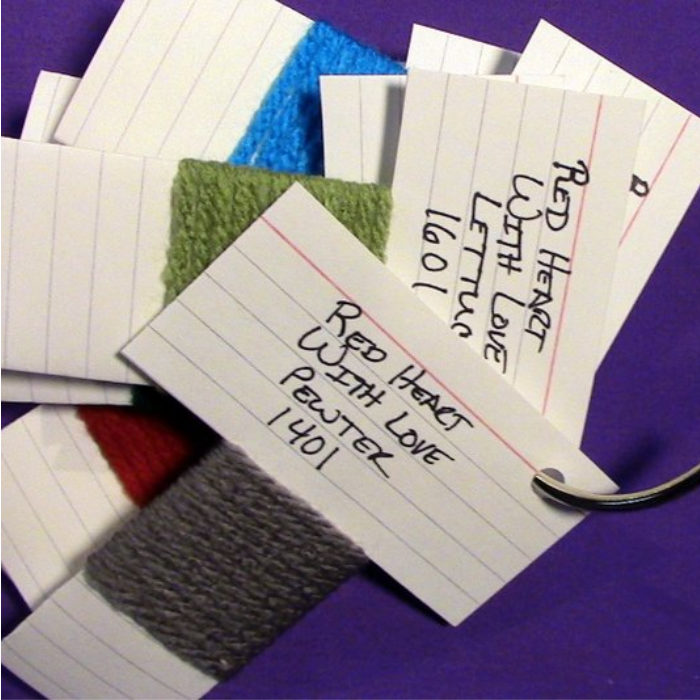 Stitchopedia-Yarn-Swatch-Cards - Pin