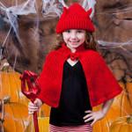 Little Devil Hat & Cape by Kim Guzman