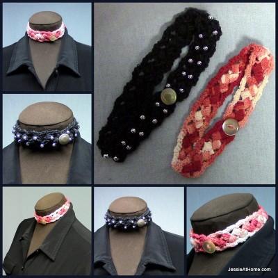 Free-Crochet-Pattern-Puff-Stitch-Choker