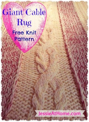 Giant-Cable-Rug-Free-Knit-Pattern