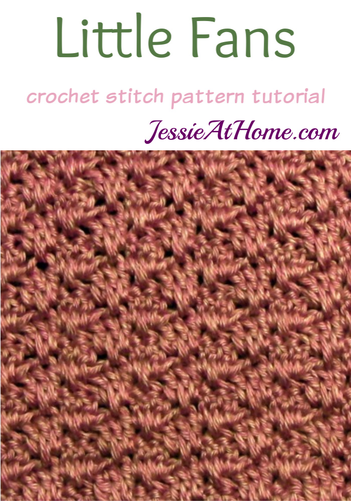 Stitchopedia-Crochet-Little-Fans-Stitch-Pattern - Pin