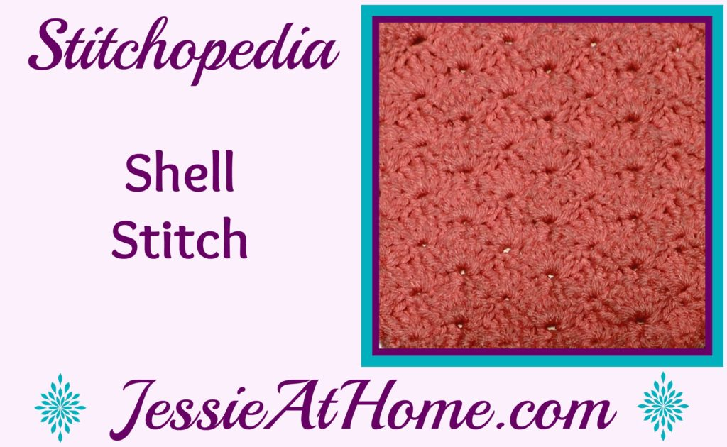 Stitchopedia Shell Stitch from Jessie At Home - video