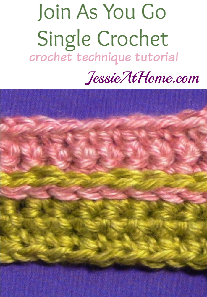 Stitchopedia-join-as-you-go-single-crochet - Pinterest