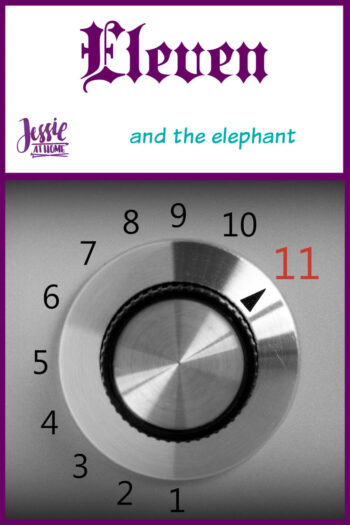 Eleven; and the elephant by Jessie At Home - Pin