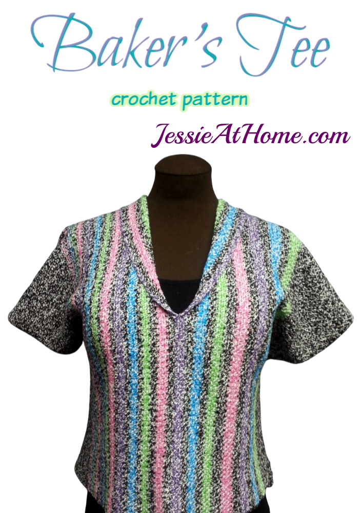Bakers Tee crochet pattern by Jessie At Home