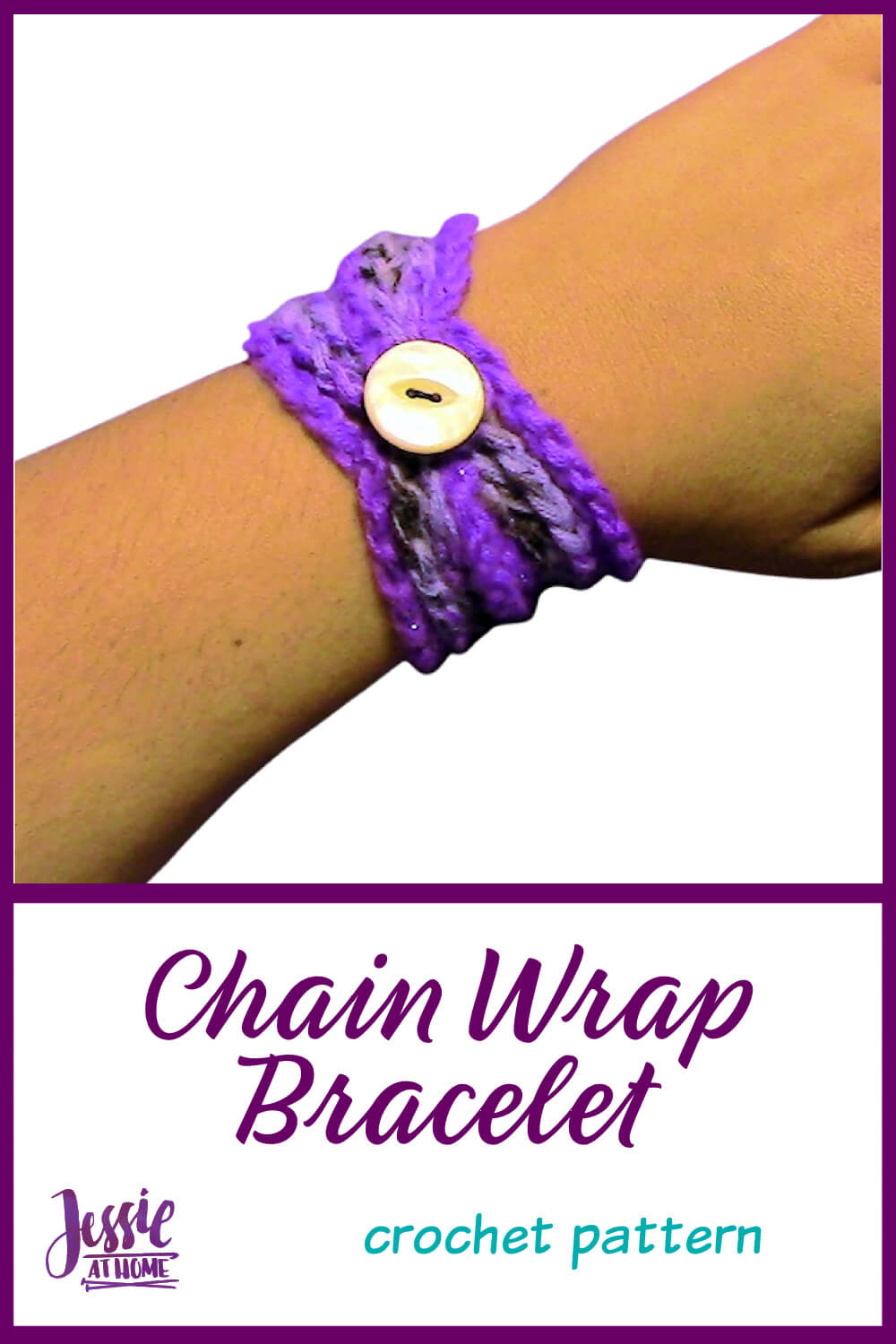 Chain Wrap Bracelet - Easy Crochet Pattern