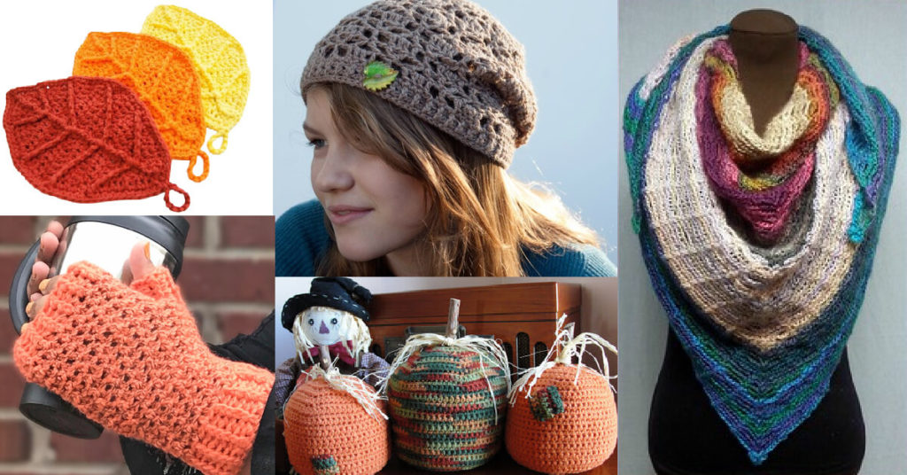 Fall Crochet Pattern Round Up from Jessie At Home - Top Image