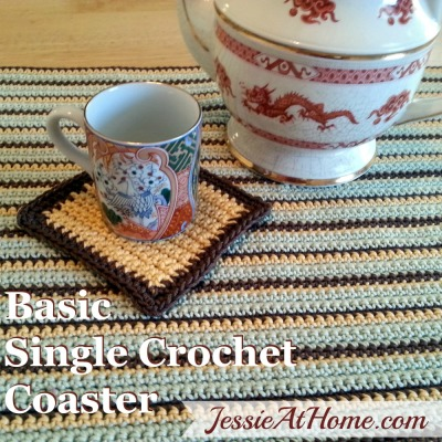 Basic-Single-Crochet-Coaster-Square