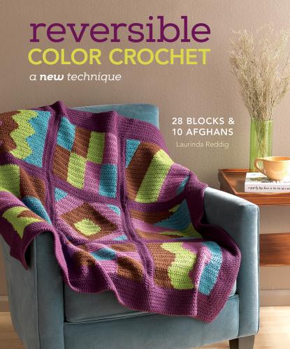 Reversible Color Crochet - jacket art