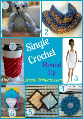 Single Crochet Pattern Round Up