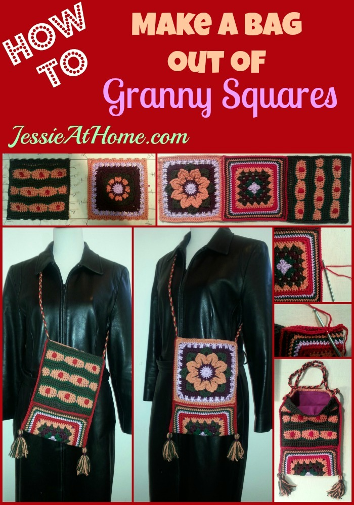 141110 How to make a bag out of granny squares