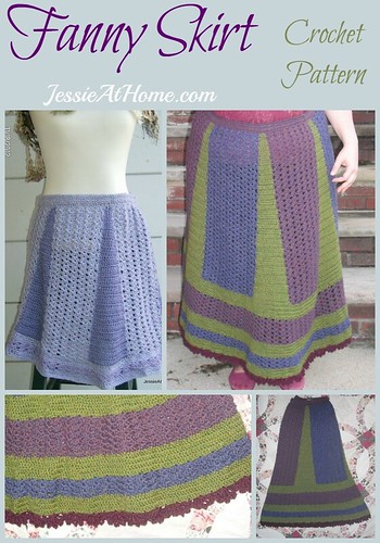 Fanny Skirt crochet pattern by Jessie At Home
