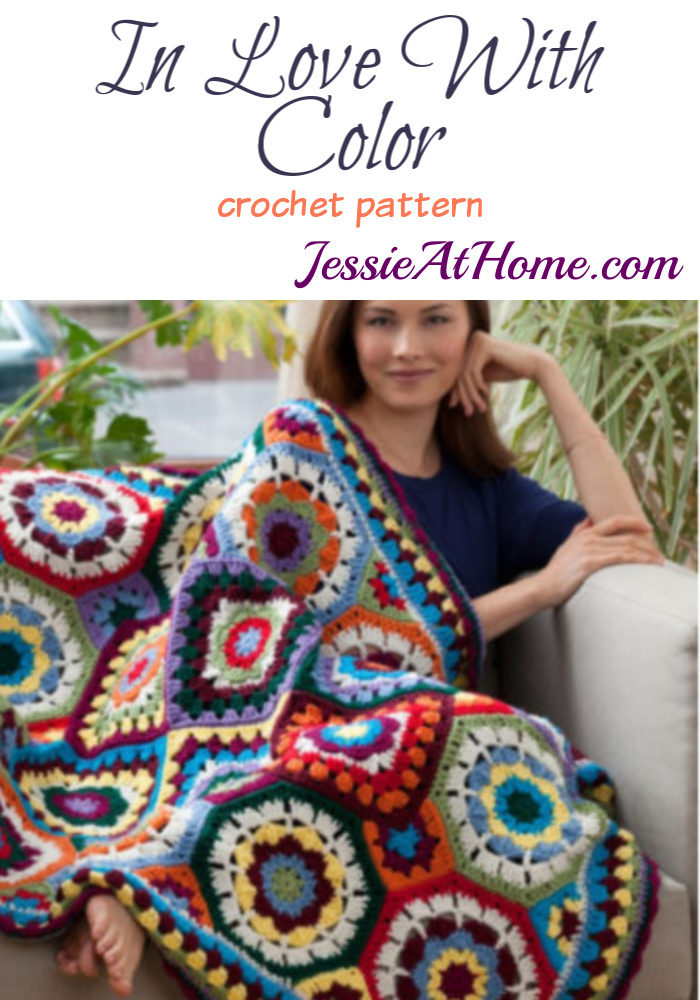 In Love With Color crochet patern by Jessie Rayot for Red Heart