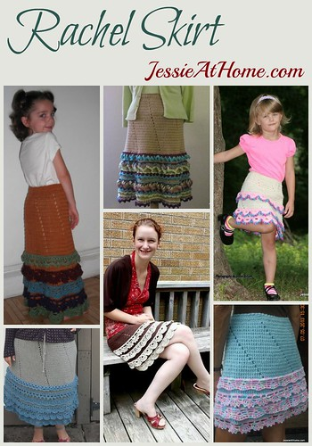 Rachel Skirt crochet pattern by Jessie At Home