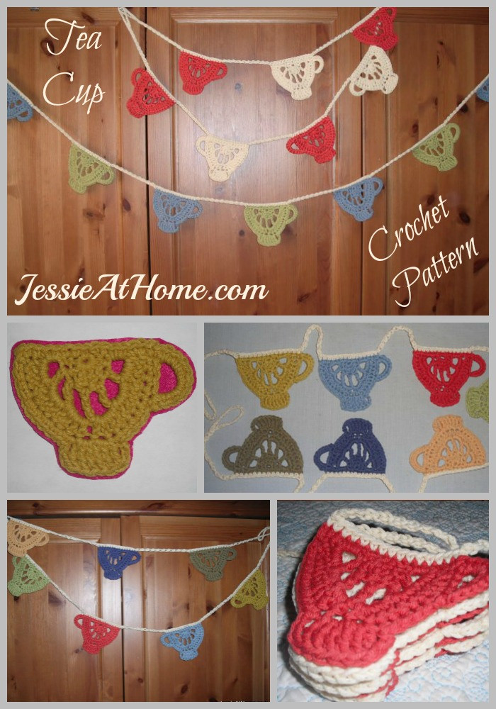 Tea Cup Crochet Pattern by Jessie At Home