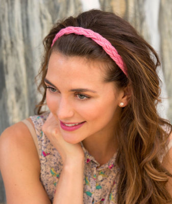 Wide Braid Headband