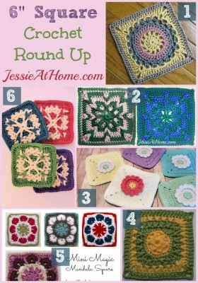 Free Crochet Patterns 6 Inch Squares : Wednesday Round Up 12/31/14 ~ 6