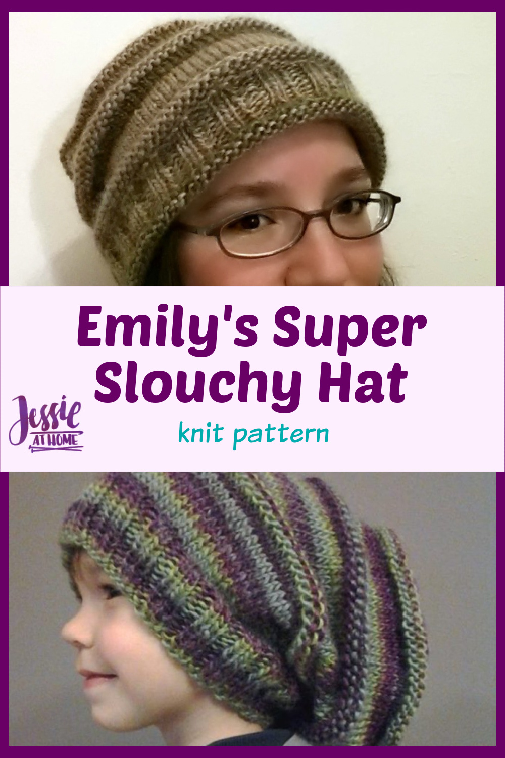 Emily\'s Super Slouchy Knit Hat
