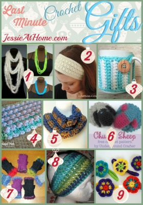 Last Minute Crochet Gifts