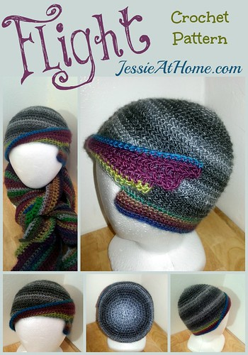 Flight Hat crochet pattern by Jessie At Home