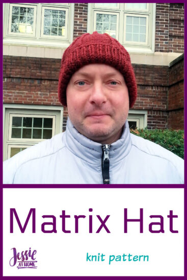 Matrix Hat knit pattern by Jessie At Home - Pin 2