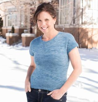 Jewel Neck Shell Kit #KnitKit from @beCraftsy {affiliate link}