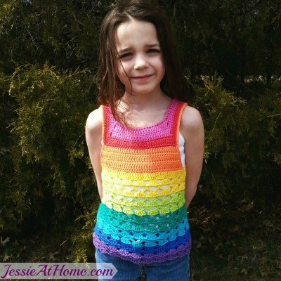 Free Crochet Toddler Tank Top Pattern : After the Rain Jessie At Home