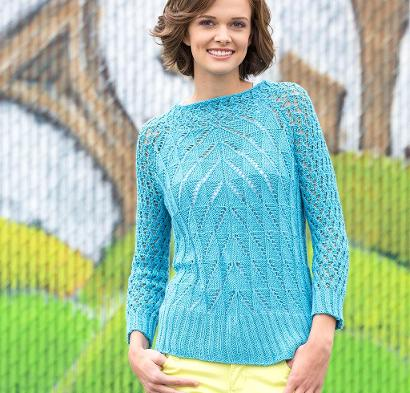 Steeple Pullover Kit #KnitKit from @beCraftsy