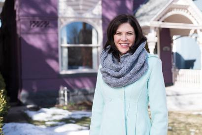 My First Infinity Scarf: Infinity Scarf Kit #KnitKit from @beCraftsy