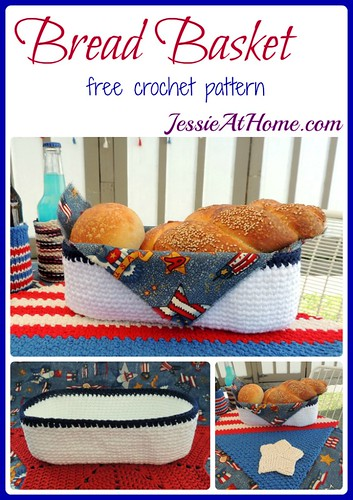 Bread Basket crochet pattern by Jessie At Home