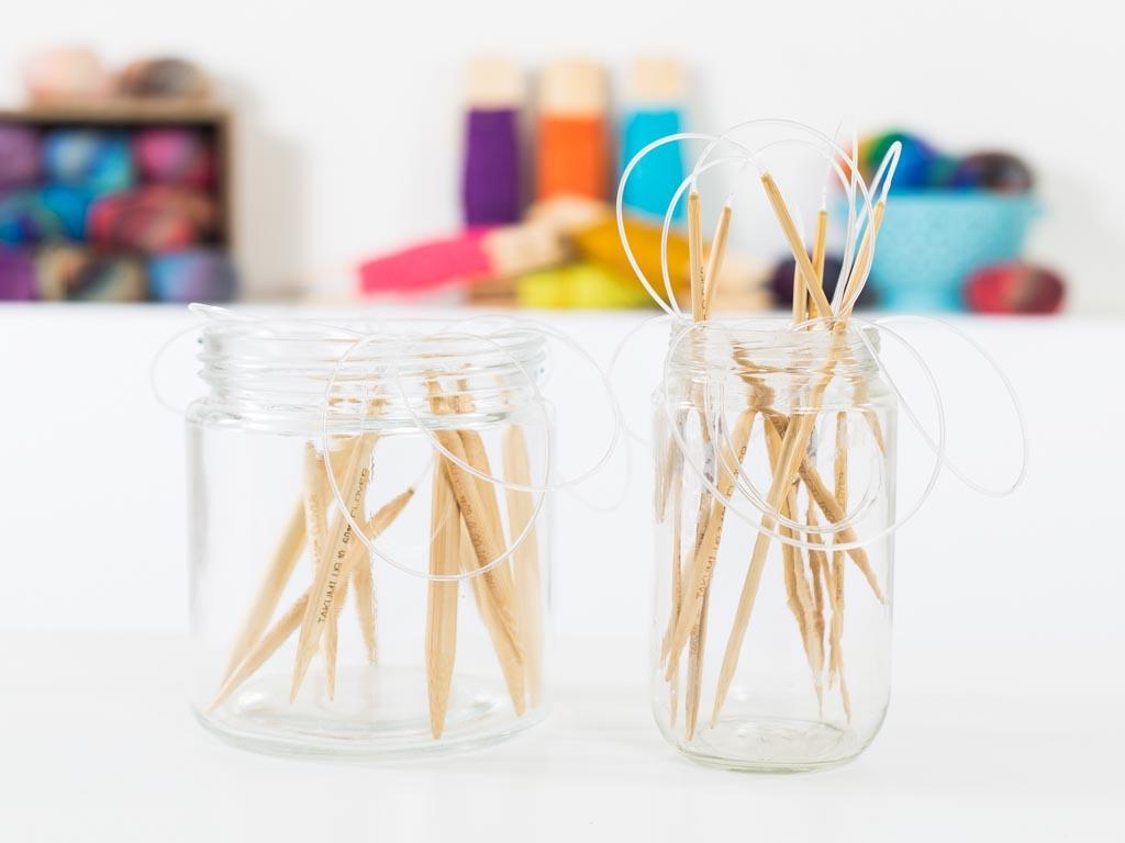 Clover Takumi Bamboo 16in Circular Knitting Needles