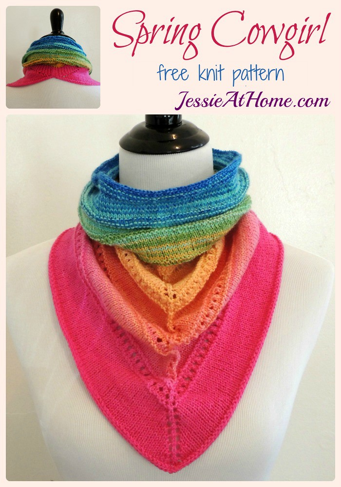 Spring Cowgirl ~ free knit pattern by Jessie At Home