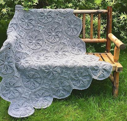 Grenoble Afghan Kit #CrochetKit from @beCraftsy
