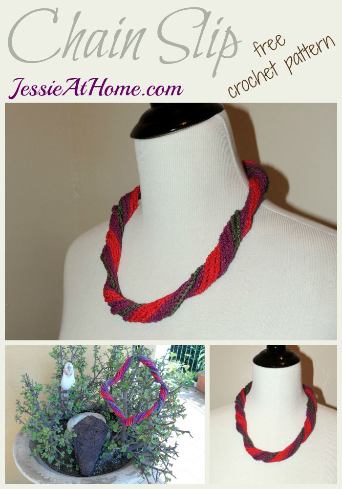Chain Slip - free crochet pattern by Jessie At Home