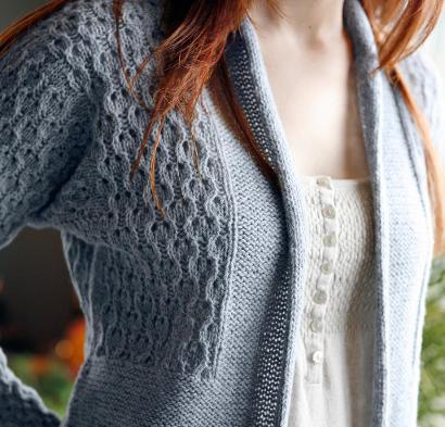 Cerisara Cardigan Kit #KnitKit from @beCraftsy